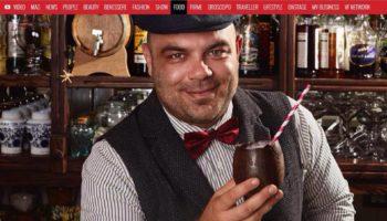 Fabio Camboni su VanityFair il tiki egg cocktails al cioccolato