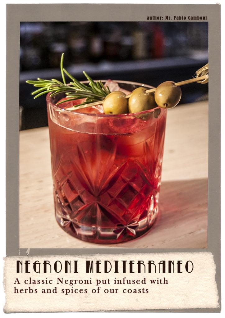 fabio camboni negroni mediterraneo cocktail
