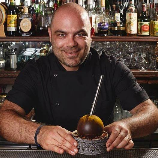 Fabio Camboni Mixer Planet Mai Tai Fabargé i cocktails al cioccolato