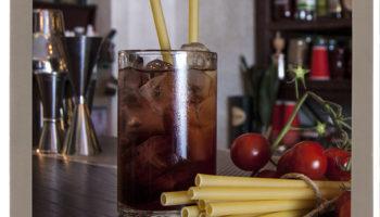 Bucatini all' Americano cocktails Campari Vermouth Bucatini Pasta mix di Fabio Camboni