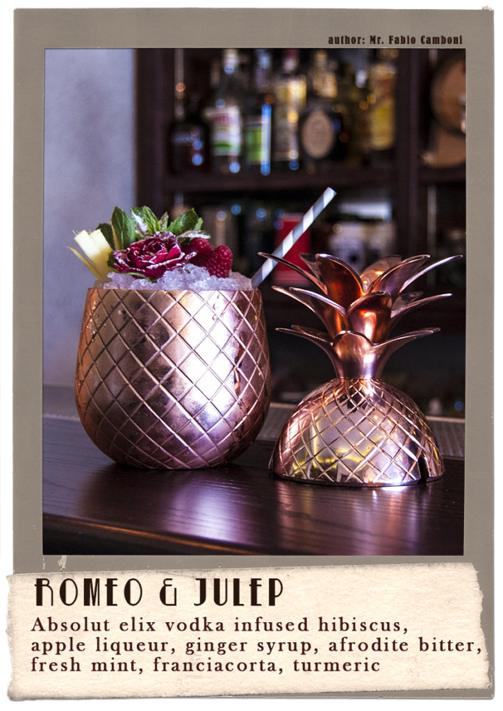 romeo & julep fabio camboni bartender